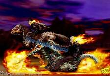 Ghost Rider Horse Motorbike Movie Art Picture Poster Home Decor Wall Print New