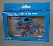 Jc Wings XX2021 KLM aeropuerto GSE Set 1 en 1:200