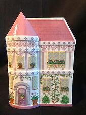 Lenox Fine Porcelain Village House Shaped Planters Pink ~ EUC #1