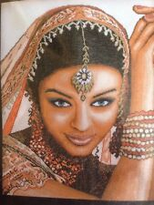 Lanarte Indian Model counted cross stitch kit, MPN 35106,