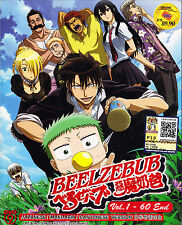 Beelzebub DVD (Vol: 1 to 60 end) with English Subtitle