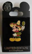 Disney Pin DLR Cinco De Mayo 2001 Mickey Mouse with Mexico Sombrero and Maracas