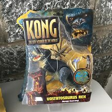 King Kong 2005 Movie Kong Vastatosaurus Rex  8th Wonder World Playmates T-Rex