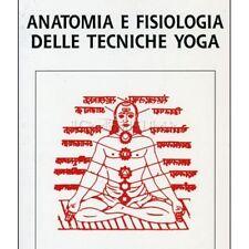 LIBRO ANATOMIA E FISIOLOGIA DELLE TECNICHE YOGA - M.M.GORE