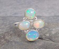 925 Silver ETHIOPIAN WELO OPAL Ring Sz Q-8 R538~Silverwave*uk Jewellery