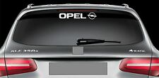 Rear Window Sticker fits Opel and Logo New Vinyl Decal Car Emblem Logo RW69