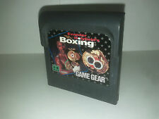 Evander holyfield's boxing Game Gear loose GAMEGEAR