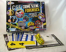 NEW CSF CRIME SCENE FORENSICS DETECTIVE TEAM ACTIVITY KIT 0097 GRAFIX