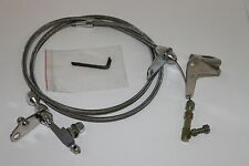 Chrysler 727 Stainless Braided Kickdown Cable Detent Mopar Transmission Trans