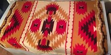 St. Labre Indian School Blanket Fleece Throw Native American Print Ashland MT