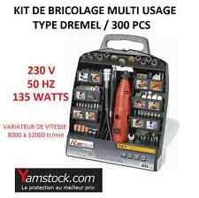 Coffret mini perceuse meuleuse multi usage type dremel