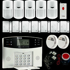 LCD Wireless GSM SMS Home Burglar Security Alarm System Detector Sensor Call
