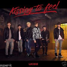 U-KISS Japan 12th single [Kissing to feel] (CD only) Regular Edition K-POP