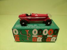 RIO 5 ALFA ROMEO P3 1932 MONOPOSTO GRAN PRIX - RED 1:43 - GOOD IN BOX