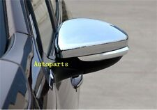 Chrome side mirror cover Trim For Peugeot 2008 & 208 2013 2014 2015