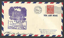 1949 COVER PREXY 6c SOLE USAGE ON AIRMAIL COVER