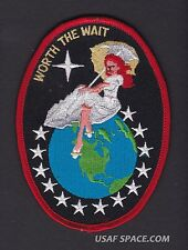 TITAN IV K 16 - WORTH THE WAIT - USAF DOD NRO CLASSIFIED SATELLITE Launch PATCH