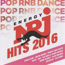 ENERGY-HIT MUSIC ONLY!-BEST OF2016  2 CD NEU FLO RIDER/ALAN WALKER/SIDO/MADCON/