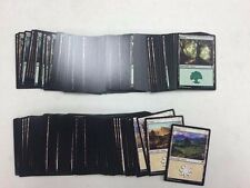 Basic Land X200 Forest X100 Plains X100 Modern Border NM MTG Lot Collection NM
