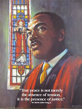 Dr. Martin Luther King J.R True Peace Quote 16 X 20 Print Poster