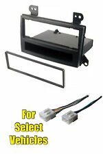 Stereo Radio Install Dash Trim Bezel Car Mount Kit for some 2000-2001 Mazda MPV
