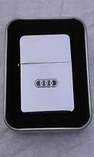 AUDI TT car brand new wind proof lighter FREE P&P FATHERS DAY GIFT Christmas