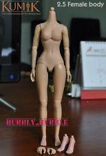 KUMIK 1/6 Scale 2.5 Female Body For Custom Hot Toys Head Sculpt SHIP FROM USA