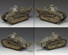 KING AND COUNTRY Renault FT-17 #122 Tank WW2 WSS298 WS298