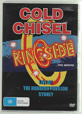 COLD CHISEL RINGSIDE THE MOVIE DVD ALL REGIONS PAL NEW