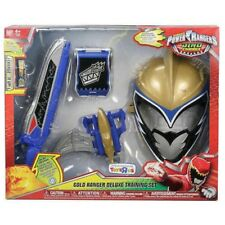 Power Rangers Dino Charge Deluxe Training Set Gold Mask, Ptera Morpher Saber Com