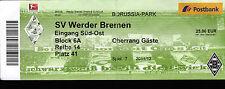 Ticket BL 2011/2012 Borussia Mönchengladbach - SV Werder Bremen