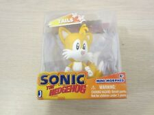 SONIC THE HEDGEHOG JAZWARES TAILS FOX, MINI MORPHED FIGURE, 2 3/4 INCH, FREE S&H