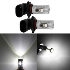 2pcs 9145 9140 H10 7000K White High Power 30W LED Bulbs For Driving Fog Light CC