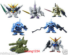 BANDAI SD Gundam Next 21 Gashapon Figure (Set 7 pcs) Double X Gouf Bertigo Neo