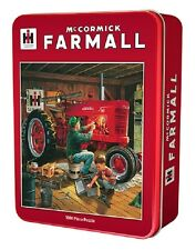 "McCormick-Farmall 1000 Piece Puzzle ""Forever Red"" in a Collectors Tin"