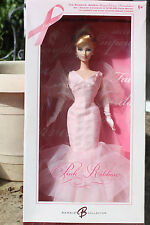 NIB BARBIE DOLLS 2006 PINK RIBBON SUSAN G. KOMEN BREAT CANCER FOUNDATION