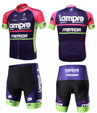 MERIDA spring and summer Short sleeve jersey suits bicycle clothing suits LAMPRE