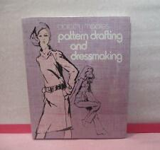NEW! SEALED 1971 Vintage Pattern Drafting and Dressmaking Book by Dorothy Moore