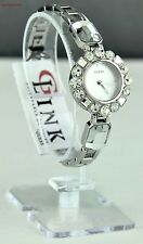 New Stylish 100% Original Watch GUESS Silver Stainless Steel Ladies U0701L1
