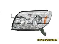 TYC NSF Certified Left Side Halogen Headlight Lamp for Toyota 4Runner 2003-2005