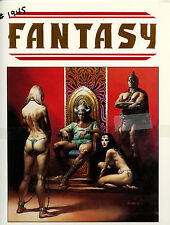 Boris Vallejo Fantasy Signed and numbered Limited Edition Portfolio New from1984