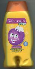 (100 ml = 2,00 €) Avon Naturals Kids Perky Plum Shampoo & Pflegespülung