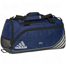 adidas Team Speed Training DUFFEL Bag GYM Fitness Soccer Travel Brand New NAVY