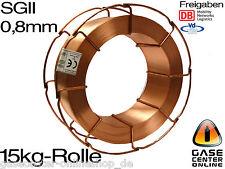 Schweissdraht Schutzgas SG2 0,8mm 15 kg Stahl SGII MIG MAG Corgon® Schweißdraht