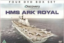 HMS ARK ROYAL - 4 DVD BOX SET - DISCOVERY CHANNEL