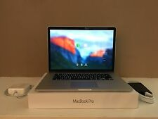 "2015 15"" MacBook Pro Retina 2.2ghz i7 / 16GB / 512GB SSD / AppleCare / Programs"
