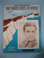Therell Be Blue Birds Over The White Cliffs Of Dover Sheet Music Vintage 1941 O