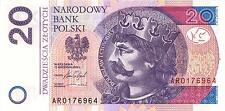 POLAND 20 ZLOTYCH 15.09.2016 P-NEW SIG/DATE AR PAPER UNC