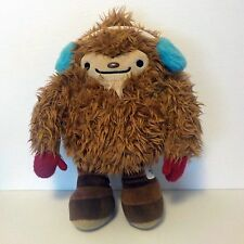 "2010 Vancouver Olympics 13"" QUATCHI Plush Toy Sasquatch Mascot red Mittens"