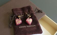 AUTHENTIC LOUIS VUITTON 'INCLUSION' PIRRE EARRINGS EXCELLENT